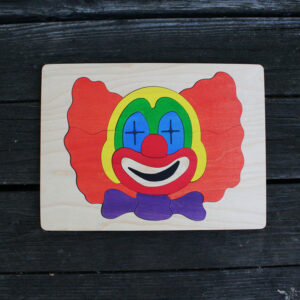 Clown Wooden Puzzle