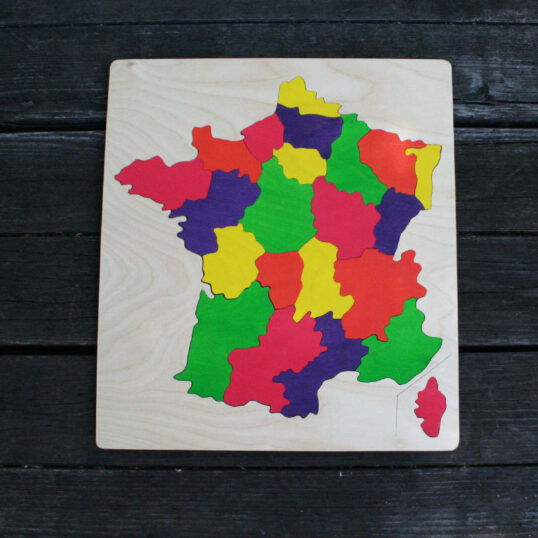 France Wooden Puzzle