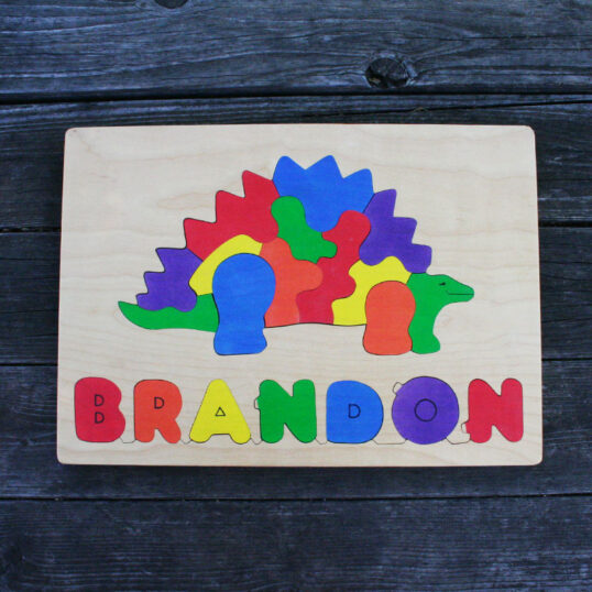 Picture name wooden puzzle