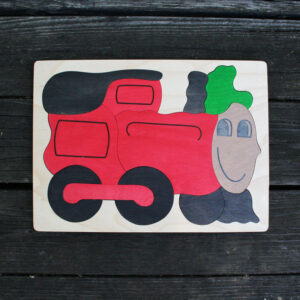 Train Wooden Puzzle