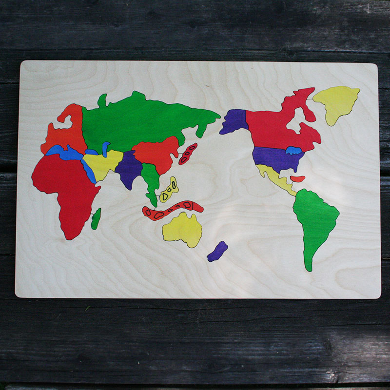 World wooden map puzzle the puzzle man world wooden puzzle gumiabroncs Image collections